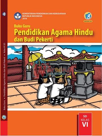 Buku Guru - Pendidikan Agama Hindu dan Budi Pekerti Kelas 6