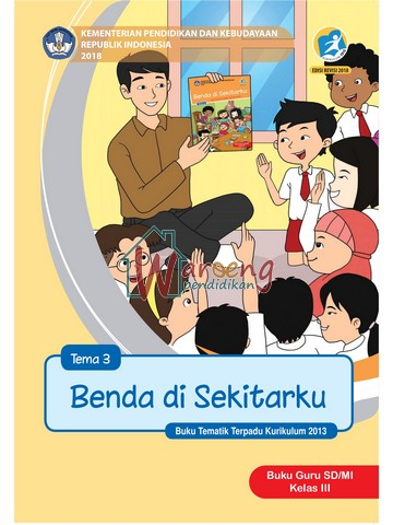 Buku Guru - Tema 3: Benda di Sekitarku Kelas 3