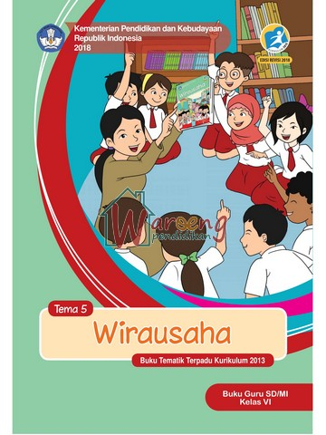 Buku Guru - Tema 5: Wirausaha Kelas 6