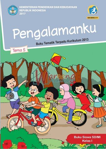 Buku Siswa - Tema 5: Pengalamanku Kelas 1
